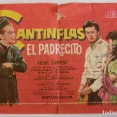Cine: PROGRAMA DE CINE DOBLE CANTINFLAS EL PADRECITO . Lote 180253531