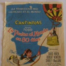 Cine: PROGRAMA DE CINE CANTINFLAS LA VUELTA AL MUNDO EN 80 DIAS. Lote 180254301