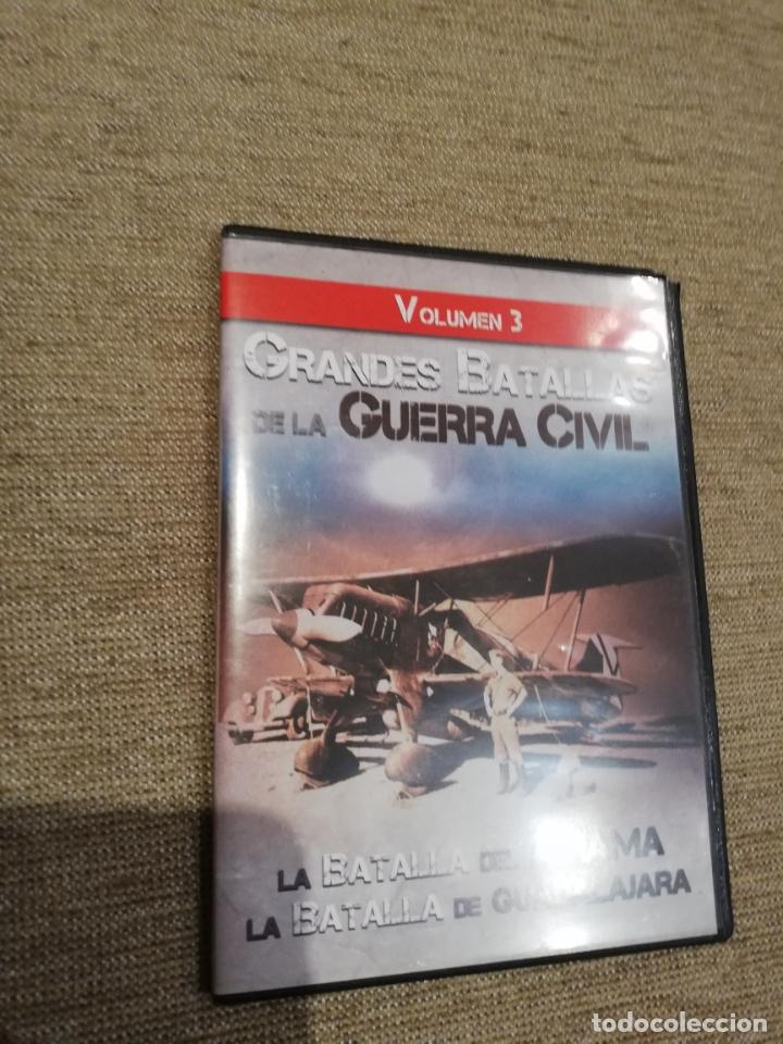 GRANDES BATALLAS DE LA GUERRA CIVIL VOLUMEN 3 -BATALLA DEL JARAMA Y GUADALAJARA. DVD (Cine - Folletos de Mano - Documentales)