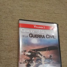 Foglietti di film di film antichi di cinema: GRANDES BATALLAS DE LA GUERRA CIVIL VOLUMEN 3 -BATALLA DEL JARAMA Y GUADALAJARA. DVD. Lote 180289215
