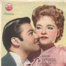 Cine: PROGRAMA DE CINE - MISTERIO EN LA OPERA - BORIS KARLOFF, SUSANA FOSTER - TEATRO CERVANTES (MÁLAGA). Lote 180336851