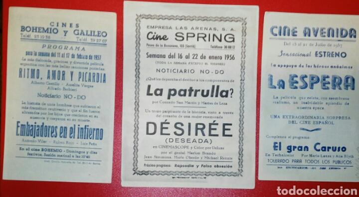 Cine: DIVISION AZUL. 3 PELICULAS MITICAS. 1954-1956. ENVIO INCLUIDO EN EL PRECIO. - Foto 2 - 180403710