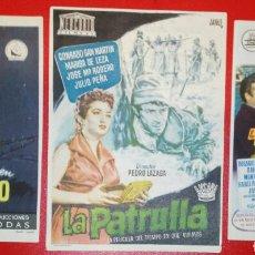 Cine: DIVISION AZUL. 3 PELICULAS MITICAS. 1954-1956. ENVIO INCLUIDO EN EL PRECIO.. Lote 180403710