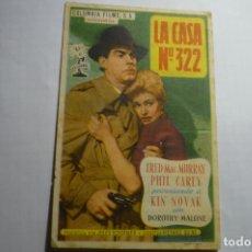 Cine: PROGRAMA LA CASA N.322 FRED MAC MURRAY PUBLICIDAD. Lote 180462167