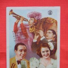Cine: EL RUISEÑOR DE LA RADIO, IMPECABLE SENCILLO ORIGINAL, MARIA MATOS, SIN PUBLICIDAD. Lote 180493011