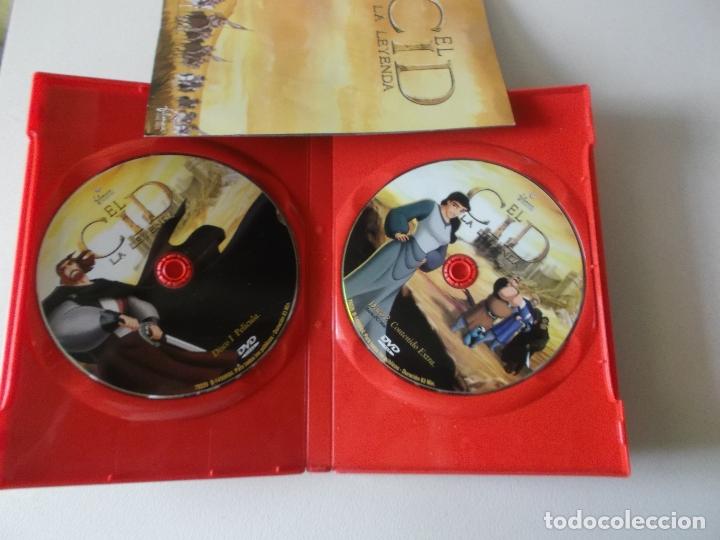 Cine: EL CID,LA LEYENDA, 2 DVD COMPLETO CON EL PANFLETO - Foto 2 - 181177693