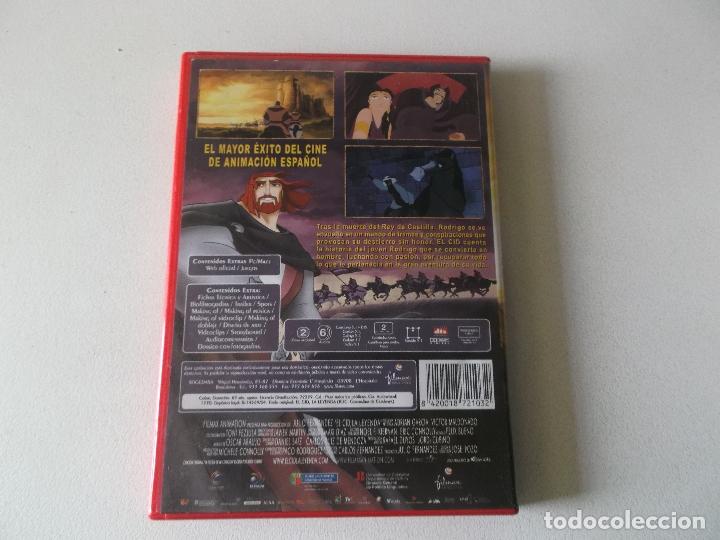 Cine: EL CID,LA LEYENDA, 2 DVD COMPLETO CON EL PANFLETO - Foto 3 - 181177693
