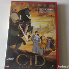 Cine: EL CID,LA LEYENDA, 2 DVD COMPLETO CON EL PANFLETO. Lote 181177693