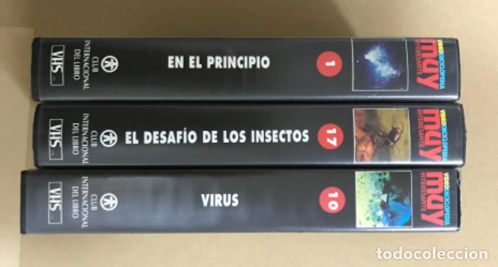Cine: Tres vídeos Vhs vídeo enciclopedia muy interesante tres titulos ver detalles - Foto 3 - 181355560