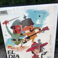 Cine: CARTEL CINE PELÍCULA EL DÍA MÁS LARGO. Lote 181419420