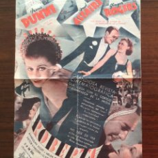 Cine: PROGRAMA CON CINE IMPRESO. ROBERTA. RADIO FILMS. FRED ASTAIRE. GINGER ROGERS. IRENE DUNNE.. Lote 181442948