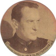 Cine: PROGRAMA DE CINE TROQUELADO CARTÓN - 30 ANIVERSARIO 20TH CENTURY FOX - JACK EL DESTRIPADOR - 1945. Lote 181461261
