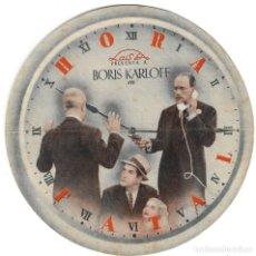 Cine: PROGRAMA DE CINE TROQUELADO - HORA FATAL - BORIS KARLOFF, MARJORIE REYNOLDS - CINE ALAMEDA - 1940.. Lote 181465880