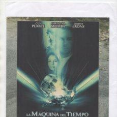 Cine: LA MAQUINA DEL TIEMPO. Lote 181875206