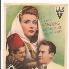 Cine: AVENTURA EN ARABIA (1944). Lote 181898108