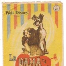 Cine: LA DAMA Y EL VAGABUNDO (1955). Lote 181900311