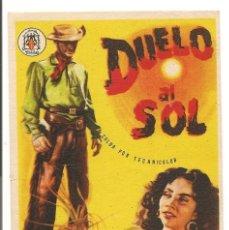 Cine: DUELO AL SOL (1946). Lote 181906312