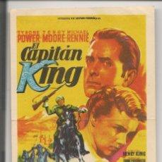 Cine: EL CAPITAN KING (1953). Lote 181907337