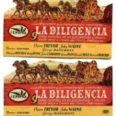 Cine: LA DILIGENCIA, CON JOHN WAYNE.. Lote 182369222