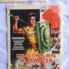 Cine: LOS ÚLTIMOS DIAS DE POMPEYA. Lote 182416298