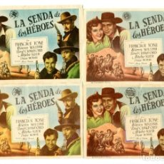 Cine: LA SENDA DE LOS HÉROES, CON FRANCHOT TONE.. Lote 182558958