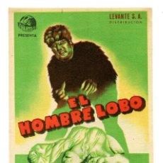 Cine: EL HOMBRE LOBO, CON BELA LUGOSI.. Lote 182639248