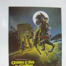 Cine: COMO UÑA Y CARNE - FOLLETO MANO ORIGINAL - KELLY RENO, VINCENT SPANO FRANCO CITTI HORSE. Lote 182684258