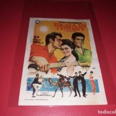 Cine: ESCALA EN TENERIFE CON EL DUO DINAMICO . PUBLICIDAD DEL CINE AL DORSO. AÑO 1964.. Lote 182700457