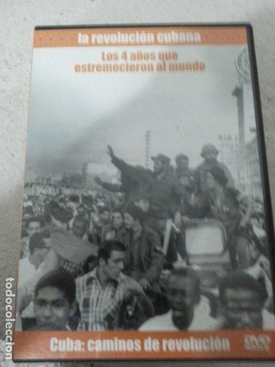 LA REVOLUCIÓN CUBANA, DVD. (Cine - Folletos de Mano - Documentales)