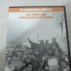 Cine: LA REVOLUCIÓN CUBANA, DVD. . Lote 182713353