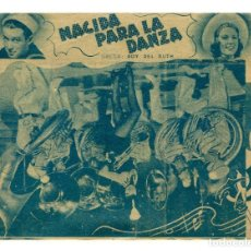 Cine: NACIDA PARA LA DANZA, CON JAMES STEWARD.. Lote 182732283