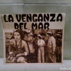 Cine: PROGRAMA CINE LA VENGANZA DEL MAR. Lote 182902967