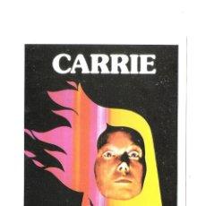 Cine: CARRIE-PROGRAMS DE MANO MODERNO-SISSY SPACEK-JOHN TRAVOLTA-. Lote 182906925