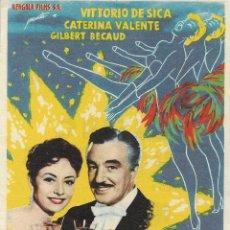 Cine: PROGRAMA DE CINE – CASINO DE PARIS – VITTORIO DE SICA – KURSAAL. Lote 182981377