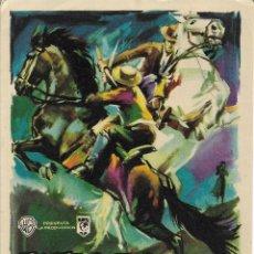Cine: PROGRAMA DE CINE – DUELO EN LA CAÑADA – MARY ESQUIVEL – MAC – WB – S/P. Lote 182982783