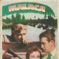 Cine: PROGRAMA DE CINE – MALACA – SPENCER TRACY – MGM - CINE AMIGOS . Lote 182983381