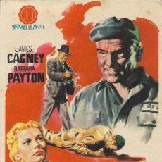 Cine: PROGRAMA DE CINE – CORAZÓN DE HIELO – JAMES CAGNEY – WB – S/P. Lote 182983651