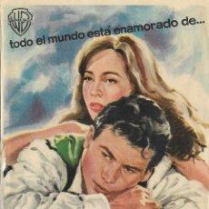 Cine: PROGRAMA DE CINE – FANNY – LESLIE CARON – MONTERROSA - 1962. Lote 182984648