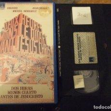 Cine: DOS HORAS MENOS CUARTO ANTES DE JESUCRISTO - JEAN YANNE - COLUCHE . MICHEL SERRAULT - THORN 1983. Lote 183085662