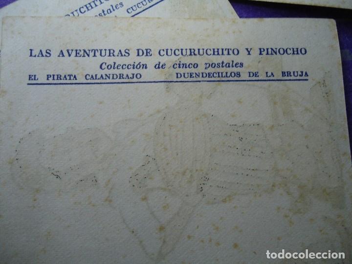 Cine: LAS AVENTURAS DE CUCURUCHITO Y PINOCHO PROGRAMA COMPLETO DOBLE + 5 SENCILLOS COMPLETO - Foto 4 - 183300038