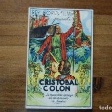 Cine: CRISTÓBAL COLÓN -IDEAL CINEMA- (ELDA), FEBRERO 1946. Lote 183362957