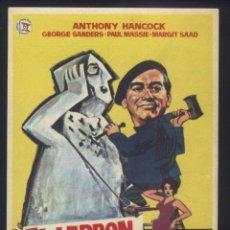 Cine: P-6836- EL LADRON DE EXITOS (THE REBEL) TONY HANCOCK - GEORGE SANDERS - PAUL MASSIE. Lote 183446796
