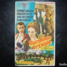 Cine: MATRIMONIO DE ESTADO.. Lote 183576027
