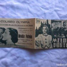 Cine: MELODIAS PORTEÑAS COLISEO OLYMPIA. Lote 183608602
