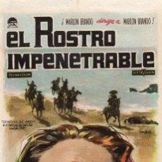 Cine: EL ROSTRO IMPENETRABLE. Lote 183691878