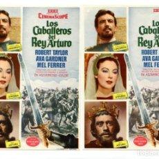 Cine: LOS CABALLEROS DEL REY ARTURO, CON ROBERT TAYLOR.. Lote 183694451