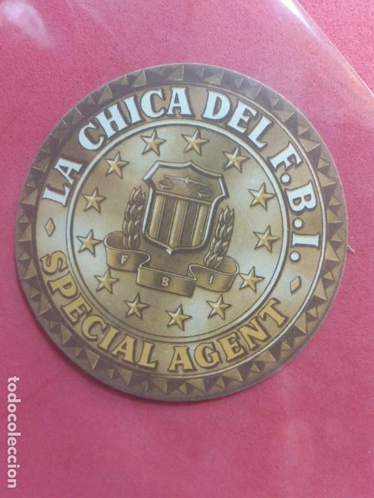 LA CHICA DEL F.B.I-1951-CON PUBLICIDAD (Cine - Folletos de Mano - Suspense)