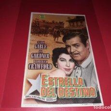 Cine: ESTRELLA DEL DESTINO CON CLARK GABLE Y AVA GARDNER. SIN PUBLICIDAD. AÑO 1952. Lote 183840618