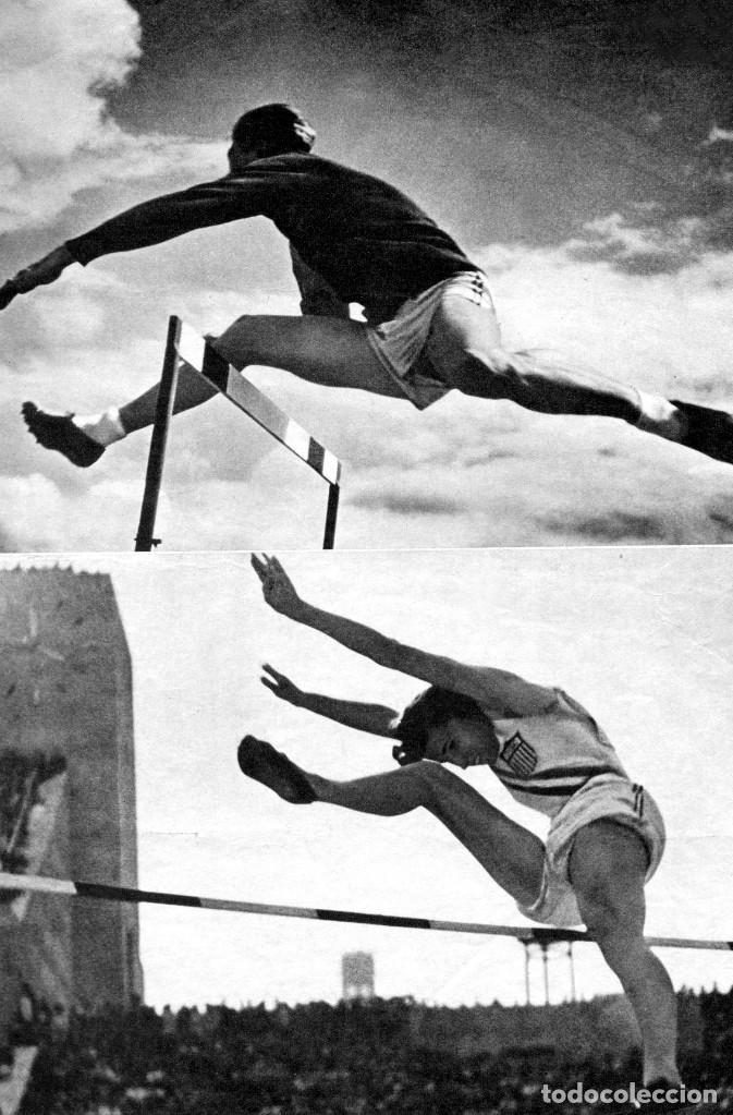 Cine: OLIMPIADA I LA FIESTA DE LOS PUEBLOS FOLLETO GUÍA ORIGINAL ÉPOCA 1936 LENI RIEFENSTAHL ADOLF HITLER - Foto 7 - 253451195