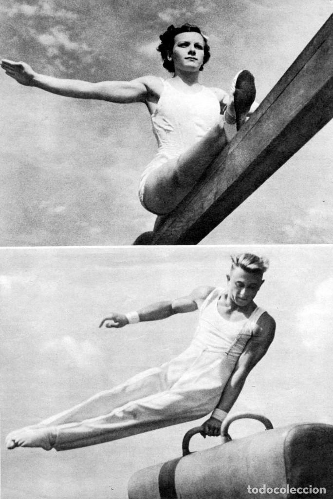 Cine: OLIMPIADA II LA FIESTA DE LA BELLEZA FOLLETO GUÍA ORIGINAL ÉPOCA 1936 LENI RIEFENSTAHL ADOLF HITLER - Foto 4 - 183842792